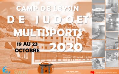 CAMP DE LEYSIN OCTOBRE 2020