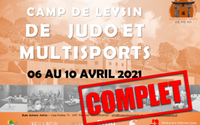 CAMP DE LEYSIN AVRIL